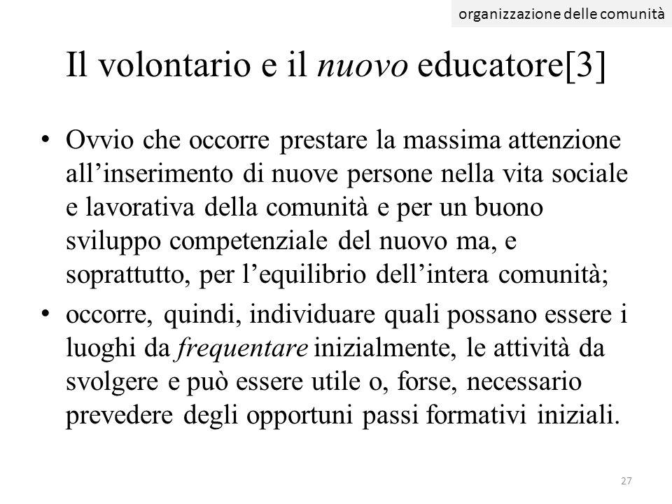 Il volontario e il nuovo educatore[3]
